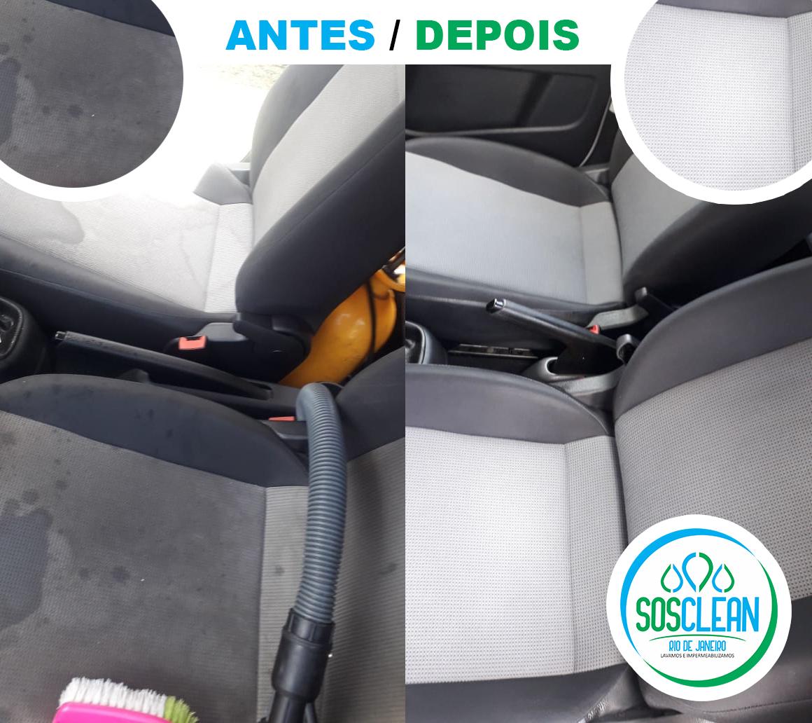 ANTES E DEPOIS BANCOS VEICULAR