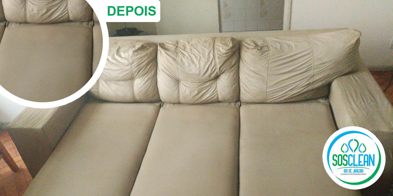 limpeza de sofá no rio de janeiro depois da limpeza