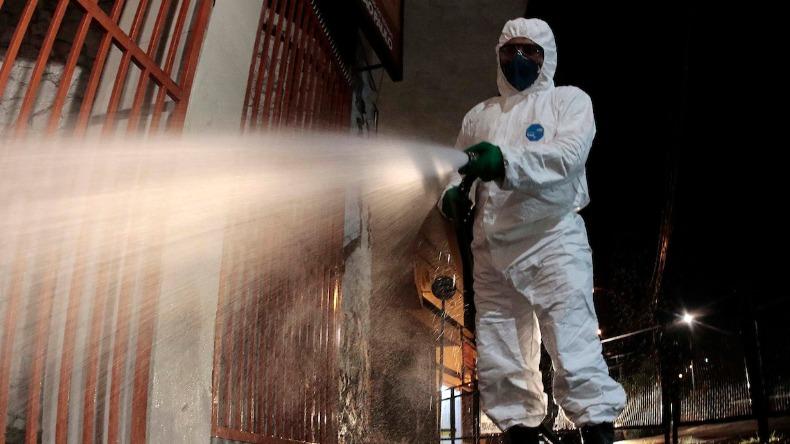 descontaminação de ambientes